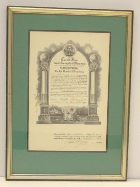 Richard Henry Nolan's Masonic Apprenticeship