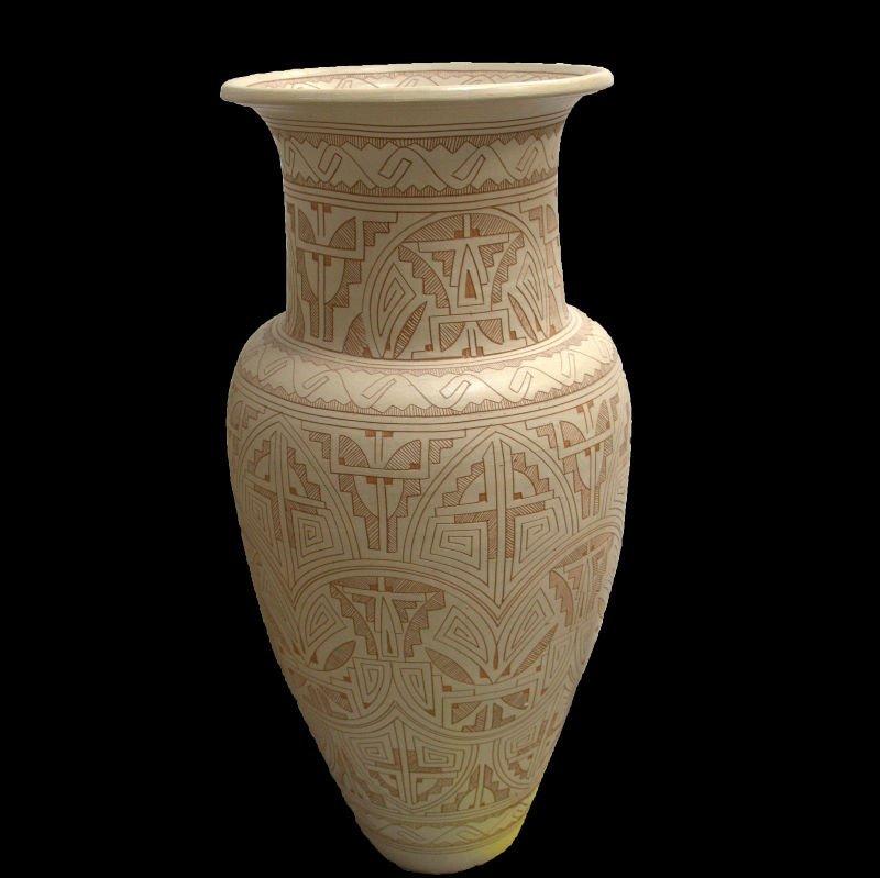 Foot large para brazil reis signed pottery floor vase 3 foot large para brazil reis signed pottery floor vase reviewsmspy