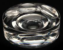 Baccarat Paper WeightTrinket Crystal Bowl