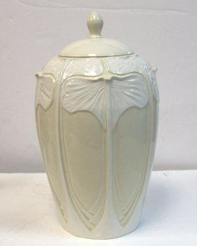 Italian Porcelain Covered Urn