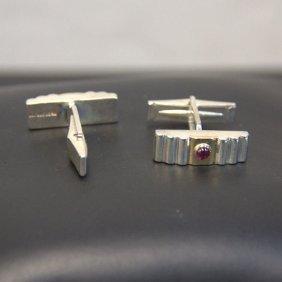 Vintage Tiffany & Co Sterling Bar Cufflinks