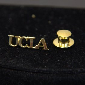 Vintage Tiffany & Co Sterling Vermeil Ucla Lapel Pin