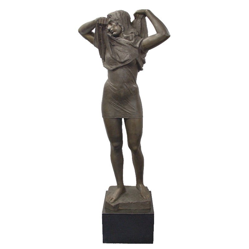 Frank Varga Large Bronze Figure 65""