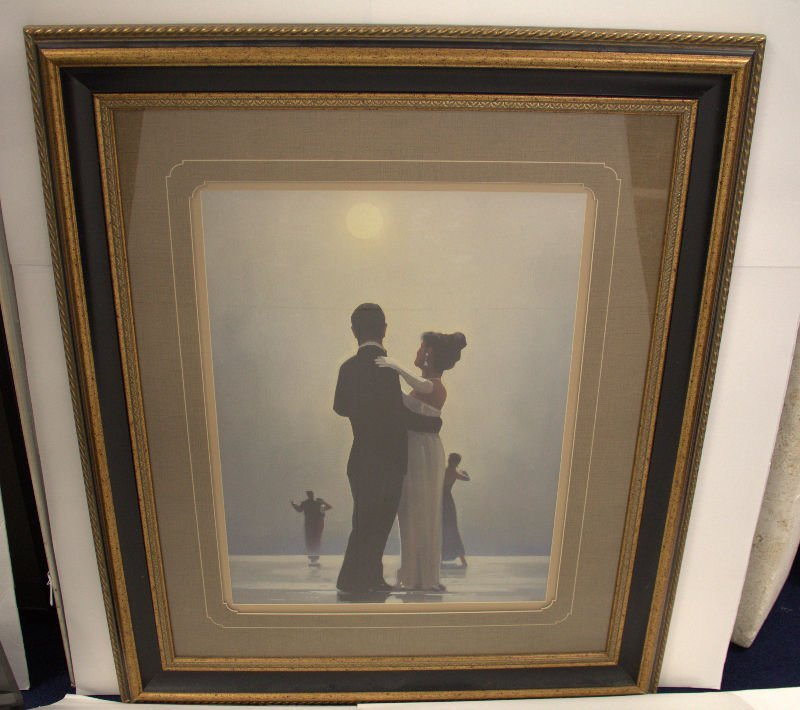 "Jack Vettriano Color Print ""Singing Butler"""