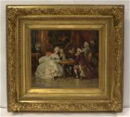 Attributed To Ladilaus Bakalowicz Oil Painting