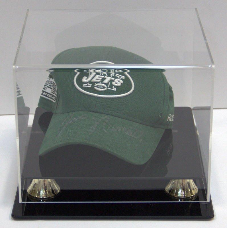 NY Jets Cap Autographed by Joe Namath