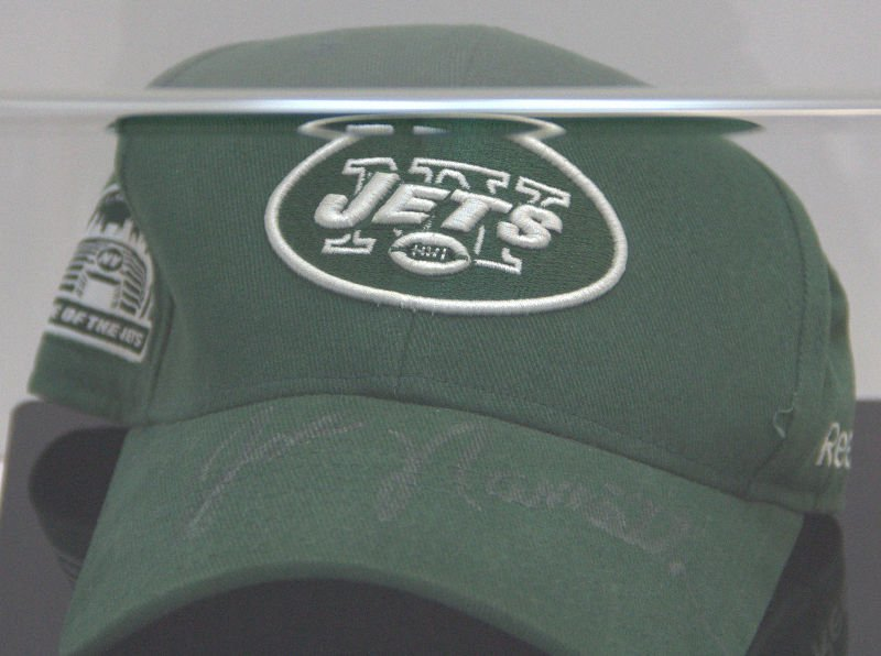 NY Jets Cap Autographed by Joe Namath - 2