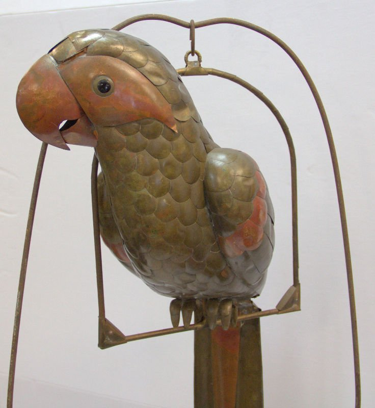 Parrot Sculpture Attributed to Sergio Bustamanted on - 3