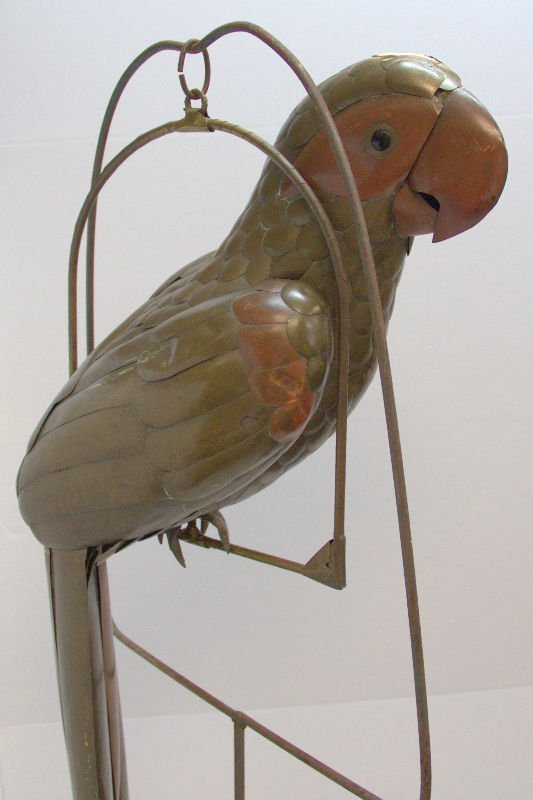 Parrot Sculpture Attributed to Sergio Bustamanted on - 4