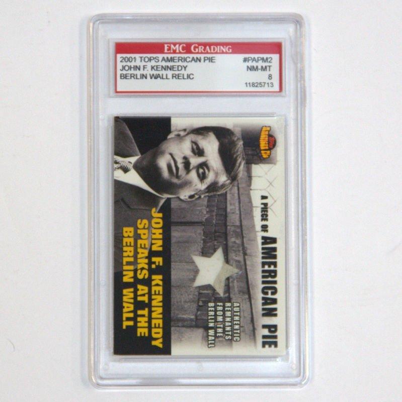 2001 Topps AM PE JFK Card