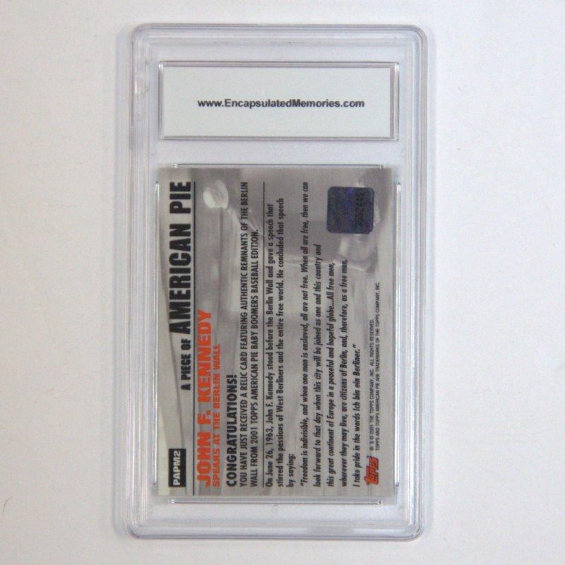 2001 Topps AM PE JFK Card - 2