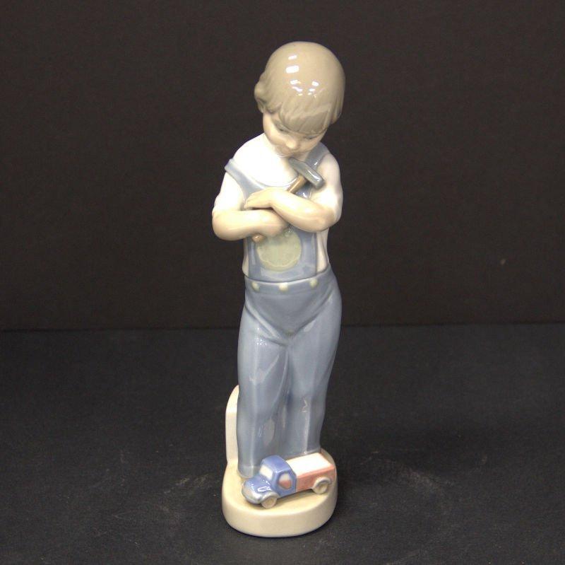 "Lladro Figure ""Mechanic Boy"" 4897"