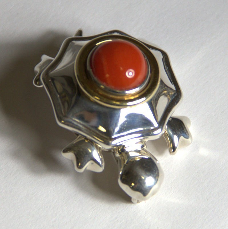 Vintage Tiffany & Co Sterling Silver Turtle