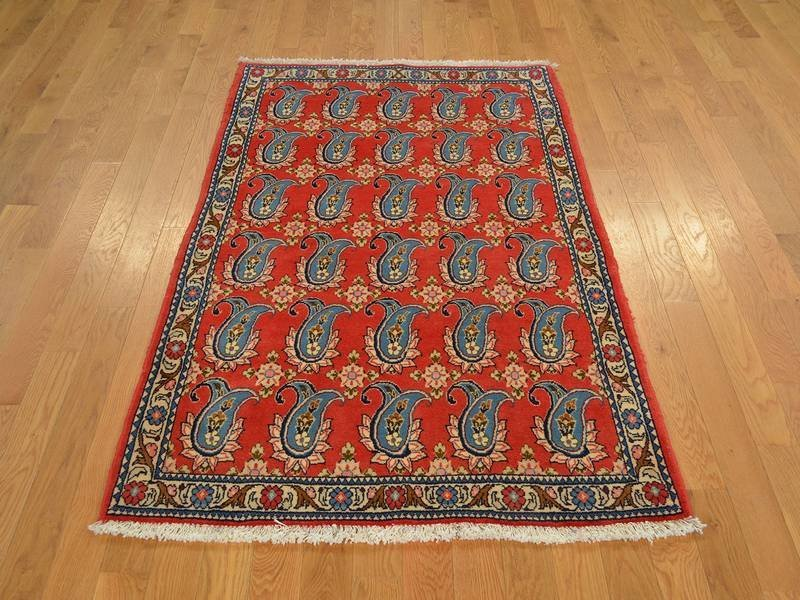 Persian Esfahan Hand Knotted Oriental Rug
