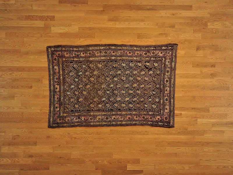Semi Antique Persian Serab Hand Knotted Rug