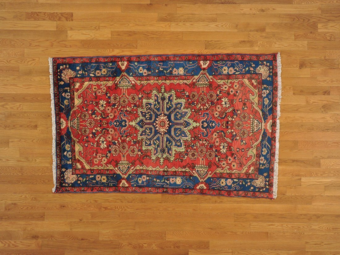 Oriental Rug Persian Nahavand Hand Knotted