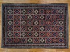 Oversize Persian Yalameh Oriental Rug Handmade