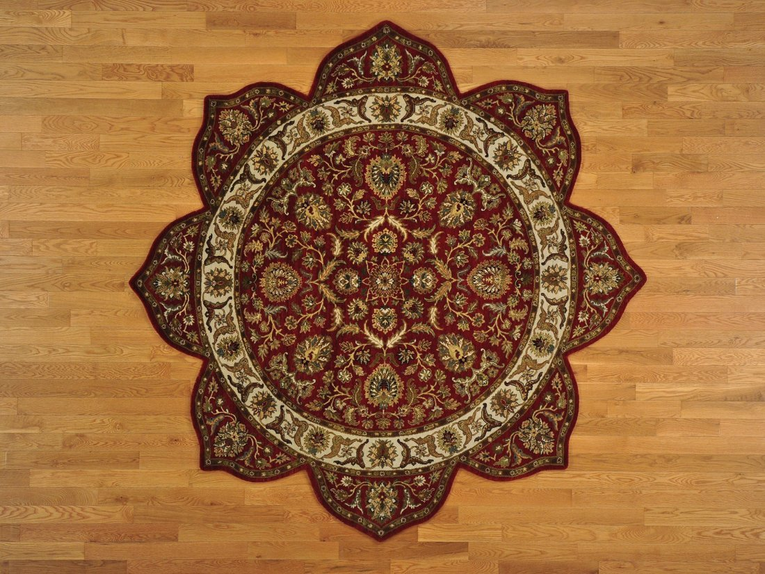 Star Design Thick and Plush Rajasthan Oriental Rug