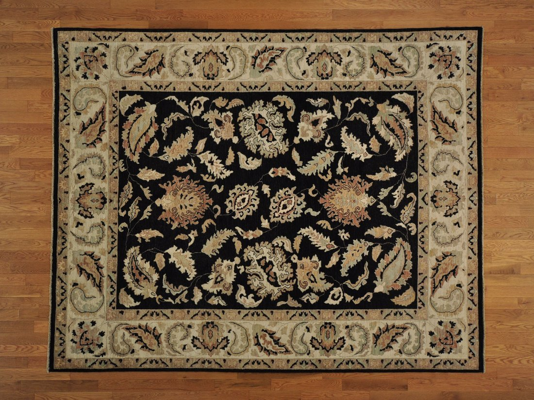 Vegetable Dyes Ziegler Mahal Oriental Rug Hand Knotted