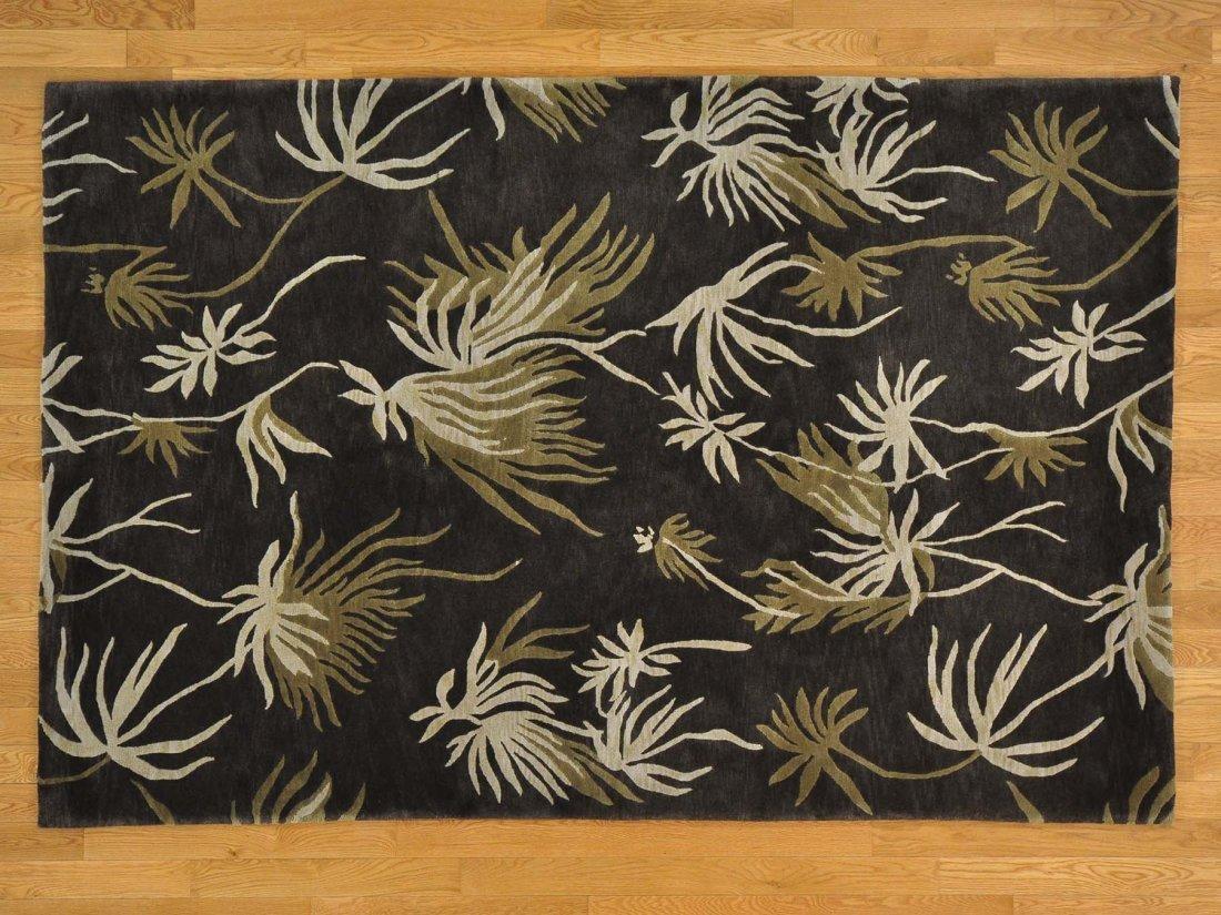 Modern Nepali 100% Wool Hand Knotted Oriental Rug