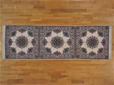 Wool and Silk Gallery Size 500 kpsi Persian Esfahan Rug