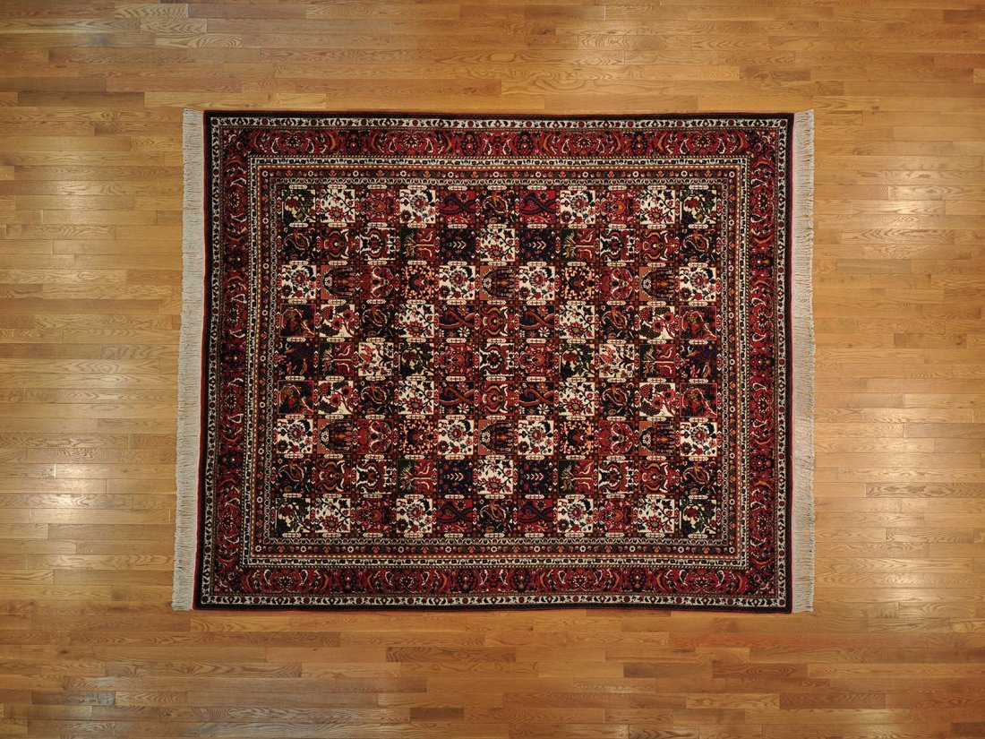 Weave Handmade Area Rug 100% Wool Semi Antique