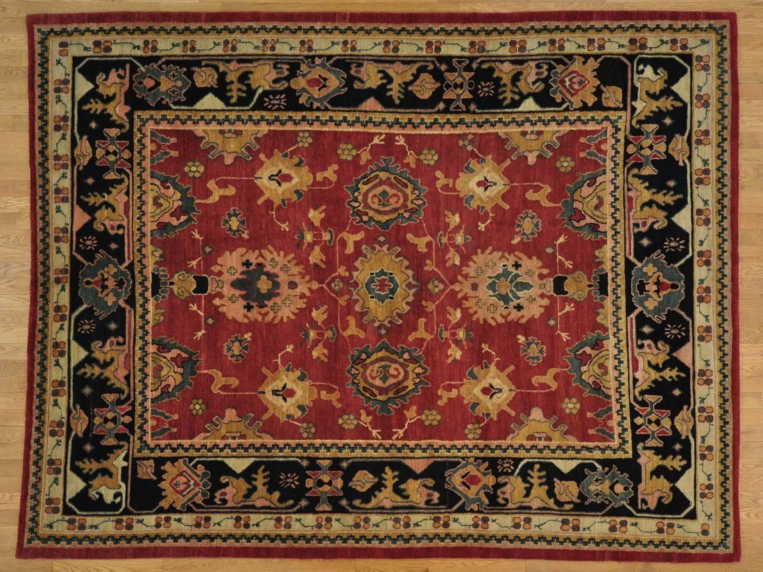 Tibetan Oushak Design Rug Handmade 100% Wool