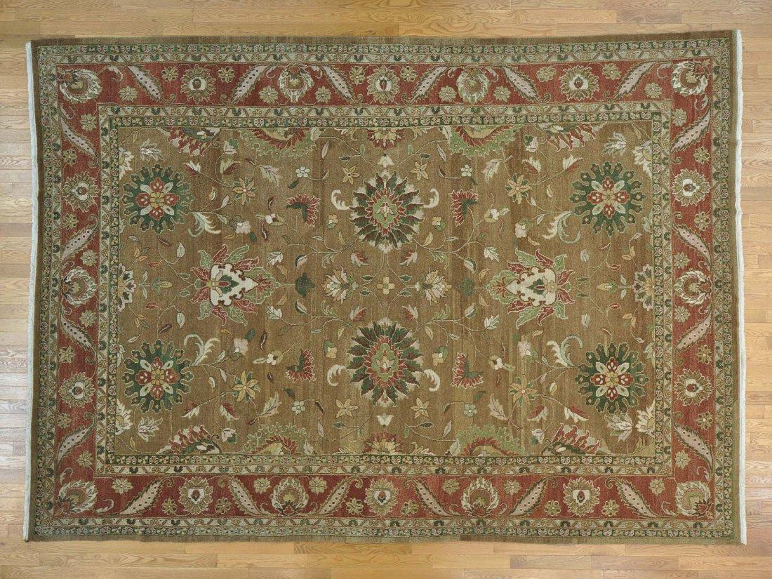 Hard Twist Agra 100 Percent Wool Handmade Rug