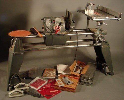 """11300: Shopsmith Inc. Work Bench. Marked """"Dayton, Ohio,"""