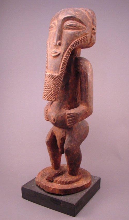"1002: Basonge Zaire Fetish Ancestor Sculpture. 16 1/2""h"