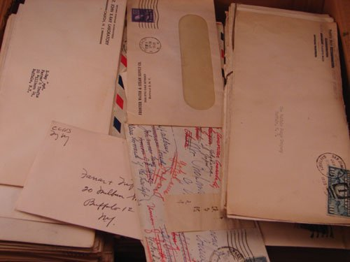 5006: Large box of U.S. Correspondence. 1930's - 1960's