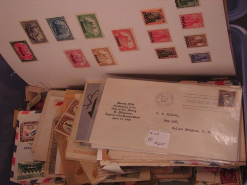 5008: Foreign box of Stamps including Danzig Stamp Coll