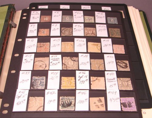 5014: Large Japanese Stamp Collection - more than 1,100
