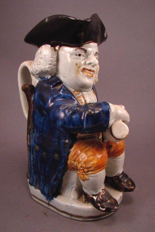 6156: Staffordshire pearlware Toby Character Jug, Engla