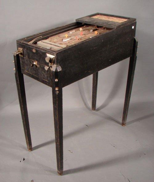 17: Bally Airway Antique Pinball Machine. ca. 1933. 5 c