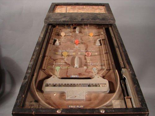 17: Bally Airway Antique Pinball Machine. ca. 1933. 5 c - 2