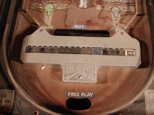 17: Bally Airway Antique Pinball Machine. ca. 1933. 5 c - 3
