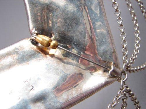 """453: Varsano Sterling Silver Pin. Marked """"925"""". Origina - 3"""