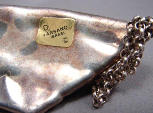 """453: Varsano Sterling Silver Pin. Marked """"925"""". Origina - 5"""