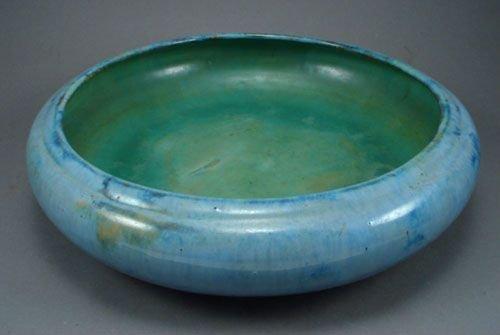 018: Fulper American art pottery center bowl