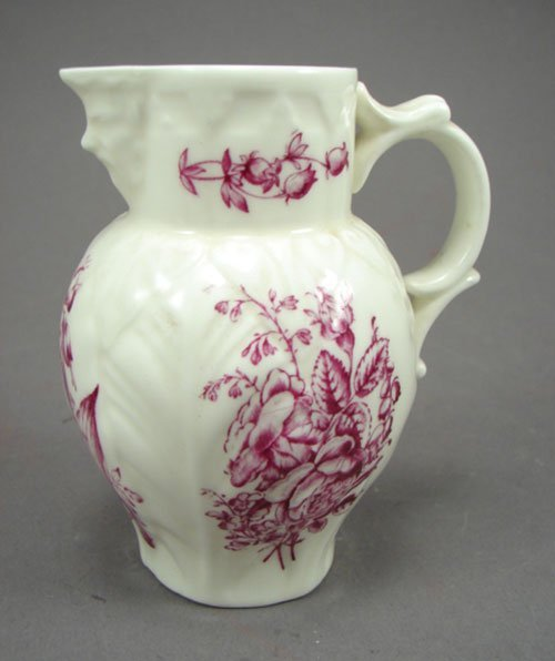 "1008: Royal Worcester Porcelain Cream Pitcher. 4 1/4""h"