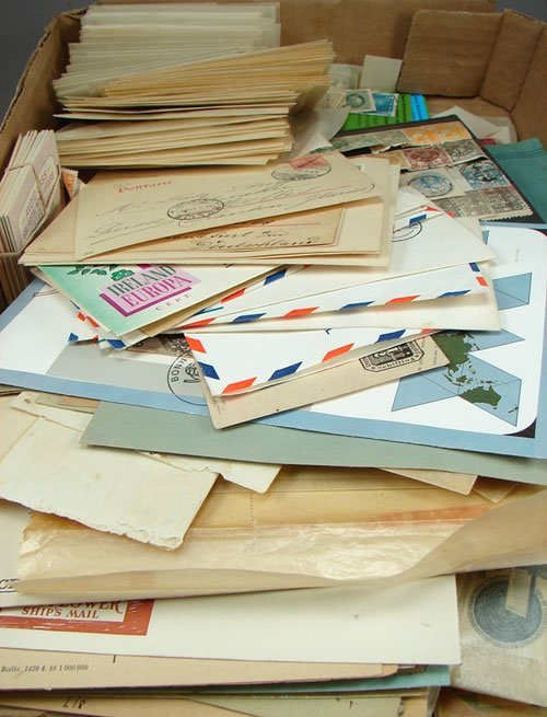 7: Foreign lot including many covers, FDCs, sheets, boo