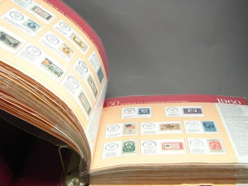 11: 50 Years of Commemorative US stamp book, mint never