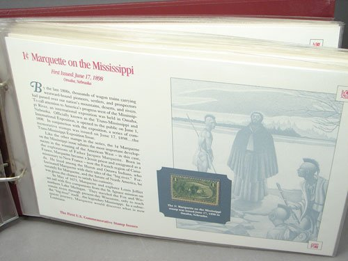 12: The First US Commemorative Stamp Issues book, mostl