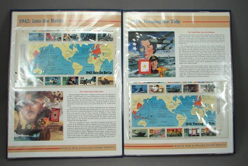 15: WWII 50th Anniversary sheets, 1941 to 1945, MNH