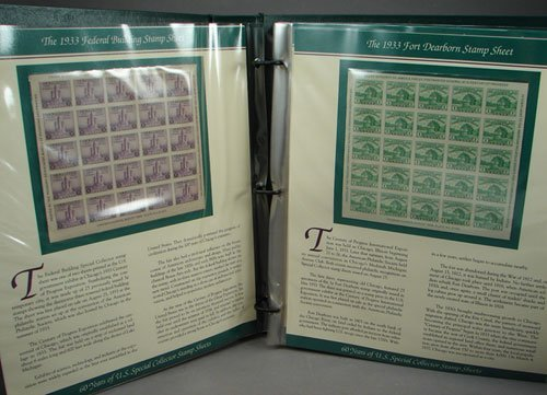 16: US Special Collection stamp sheet includes Farley s