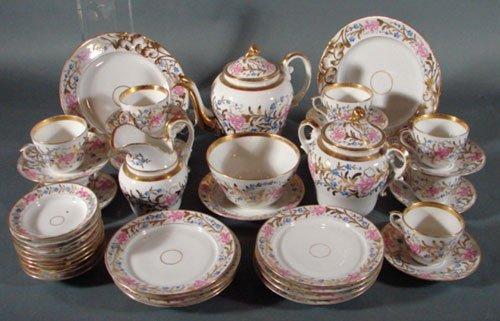 2010: Antique European Porcelain Dessert Service for ni