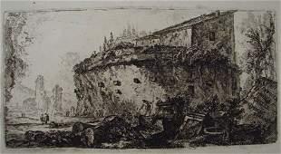 2032: 18th c. Giovanni Battista Piranesi Architectural