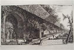 2034: 18th c. Giovanni Piranesi Architectural Print