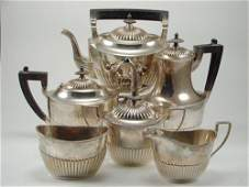 "Gorham 6pc Sterling Silver Tea Set including 11""h"